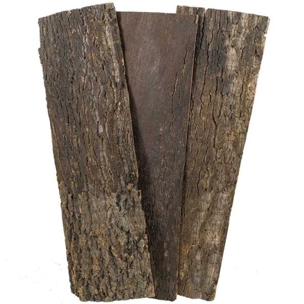 Planche d'écorce de peuplier - 80 cm - A l'unité - Photo n°1