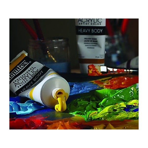 Liquitex Professional Heavy Body Tube de Peinture acrylique 59 ml Jaune Hansa clair - Photo n°1