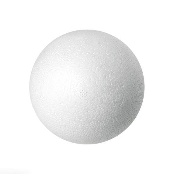 Boule polystyrène ignifugé 6 cm - Photo n°1