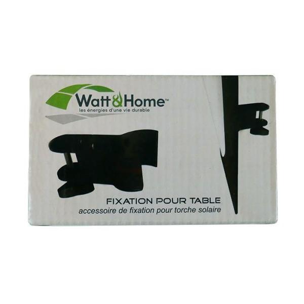 Fixation de table pour torche solaire - Photo n°1