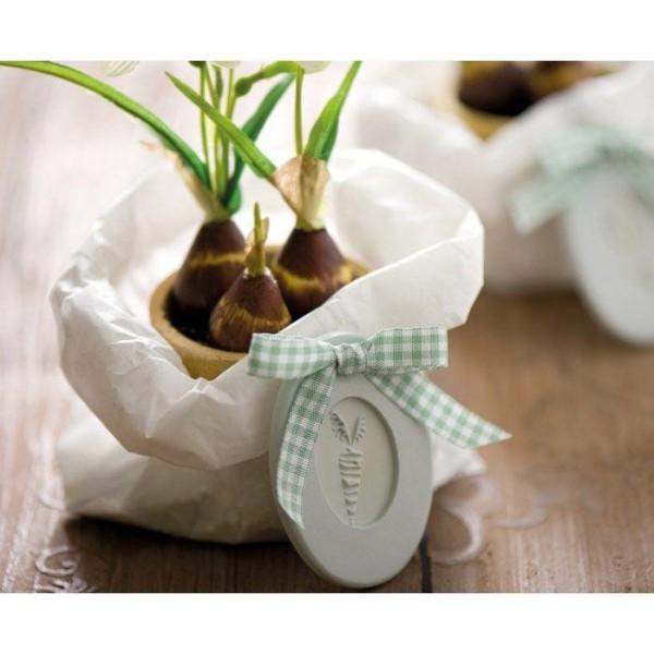 Tampons caoutchouc pour savon à faire soi-même x 2 - Lapin & carotte - Photo n°2