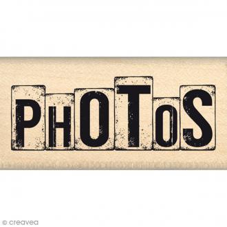 Tampon Caractères authentiques - Dés photos - 3 x 6 cm