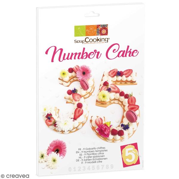 Coffret Number cake - Photo n°1