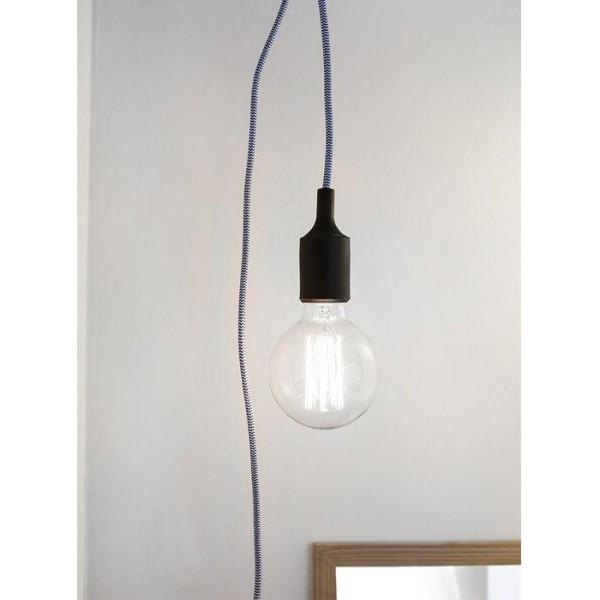 Kit suspension - fil bleu à chevrons 3,7 m - Photo n°4