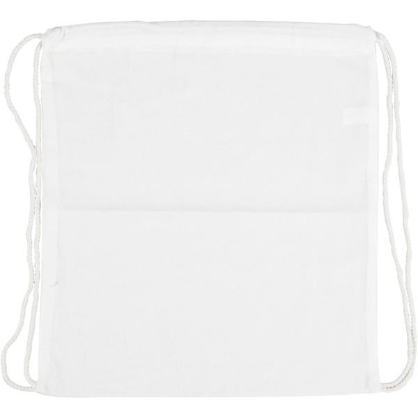 Sac à dos en tissu à décorer - 37 x 41 cm - Photo n°1