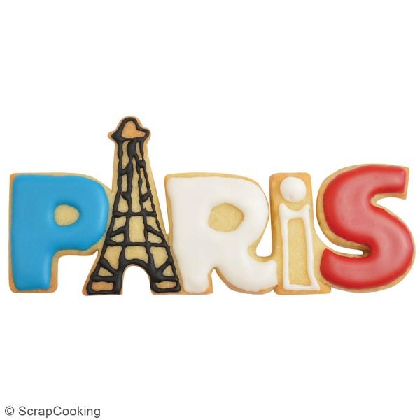 Découpoir en inox - Paris - 14 x 6,5 cm - Photo n°2