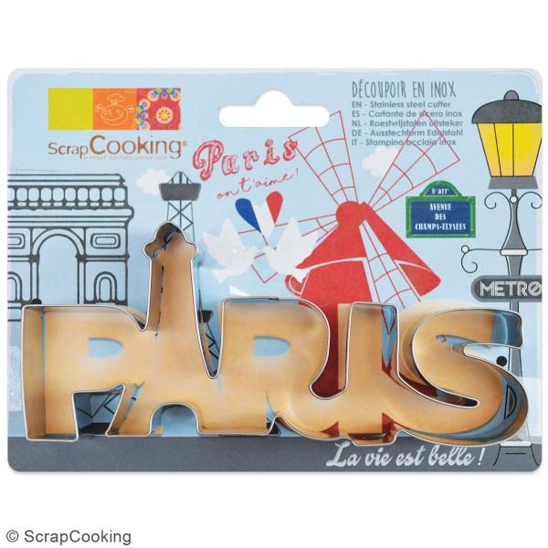 Découpoir en inox - Paris - 14 x 6,5 cm - Photo n°3