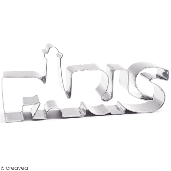 Découpoir en inox - Paris - 14 x 6,5 cm - Photo n°1