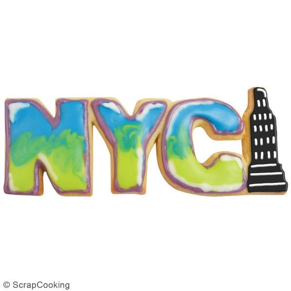 Découpoir en inox - NYC - 14 x 5,5 cm - Photo n°2