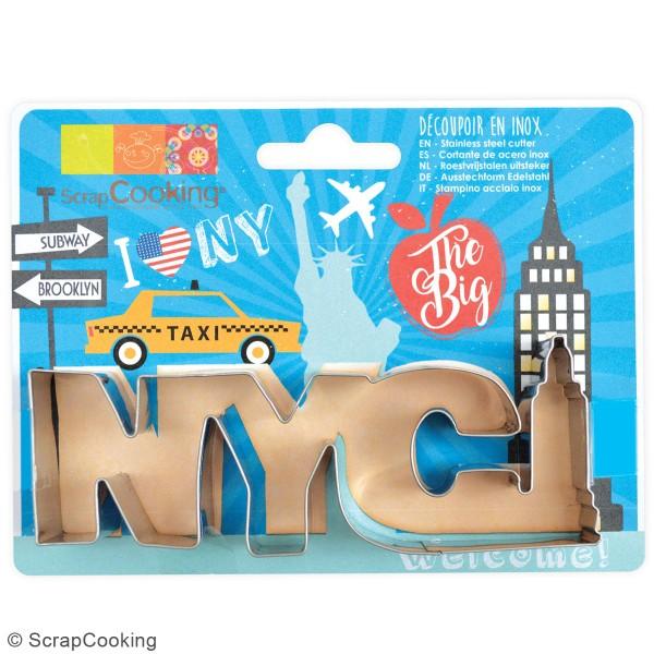 Découpoir en inox - NYC - 14 x 5,5 cm - Photo n°3