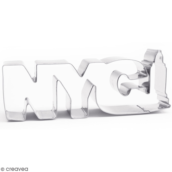 Découpoir en inox - NYC - 14 x 5,5 cm - Photo n°1