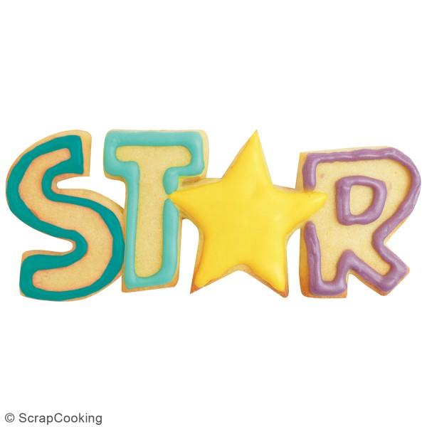 Découpoir en inox - Star - 14,5 x 5 cm - Photo n°2