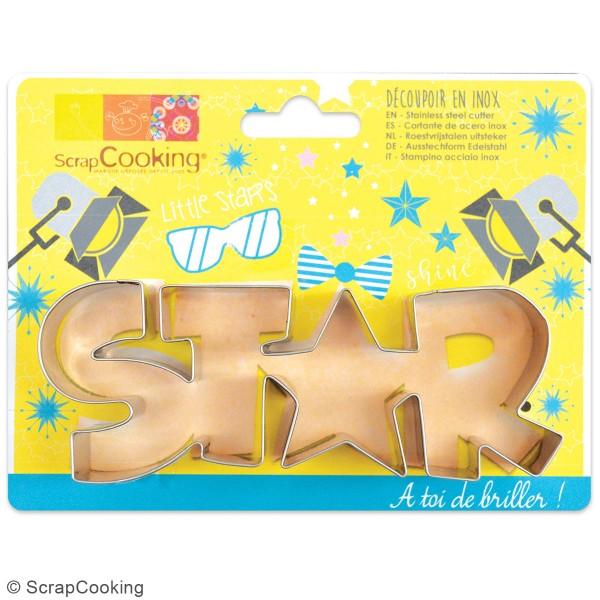 Découpoir en inox - Star - 14,5 x 5 cm - Photo n°3