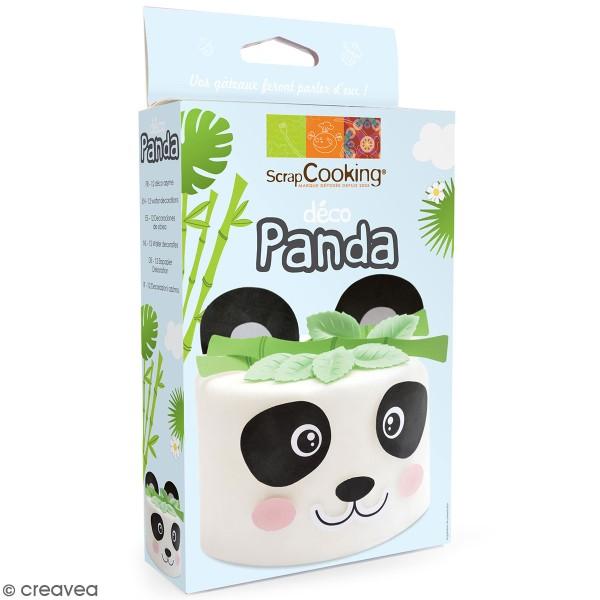 Kit décoration azyme - Panda - Photo n°1