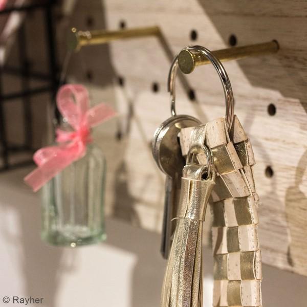 Accessoire pegboard - Broches en métal doré - 5 cm - 4 pcs - Photo n°2
