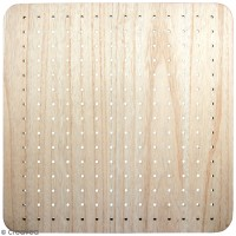 Pegboard en bois - 40 x 40 cm