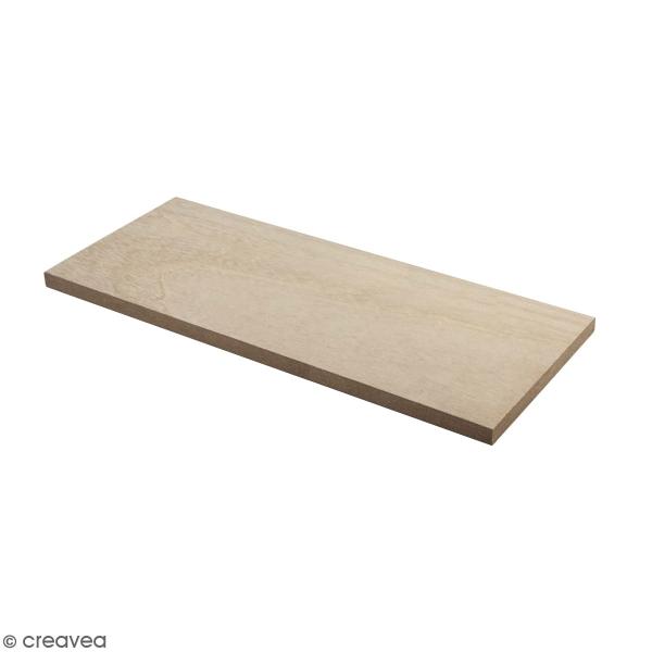 Accessoire pegboard - Etagère en bois naturel - 20 x 10 cm - Photo n°1