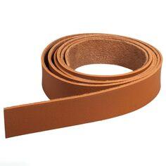 Accessoire pegboard - Bande en simili cuir marron - 2 x 138 cm