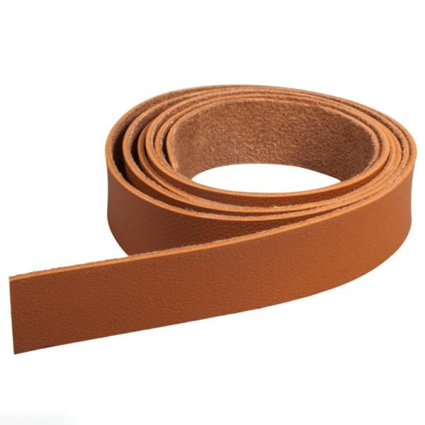 Accessoire pegboard - Bande en simili cuir marron - 2 x 138 cm - Photo n°1