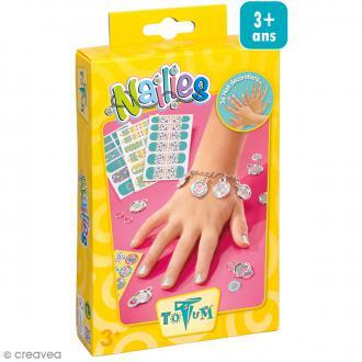 Totum creativity - Nail art et bracelet enfant