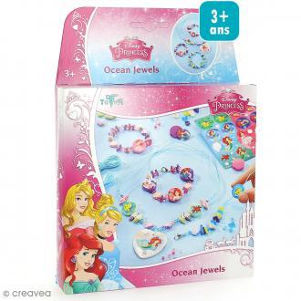 Kit créatif Princesses Disney - La petite sirène - Bijoux Sous l'océan