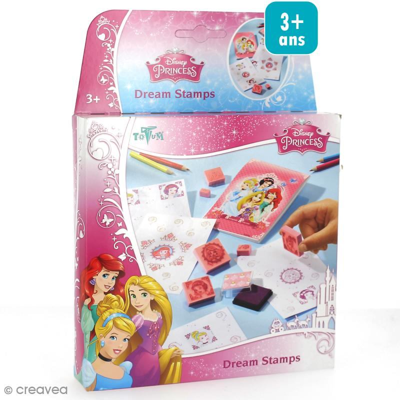 kit cr atif princesses disney tampons colorier jeux cr atifs de 2 5 ans creavea. Black Bedroom Furniture Sets. Home Design Ideas