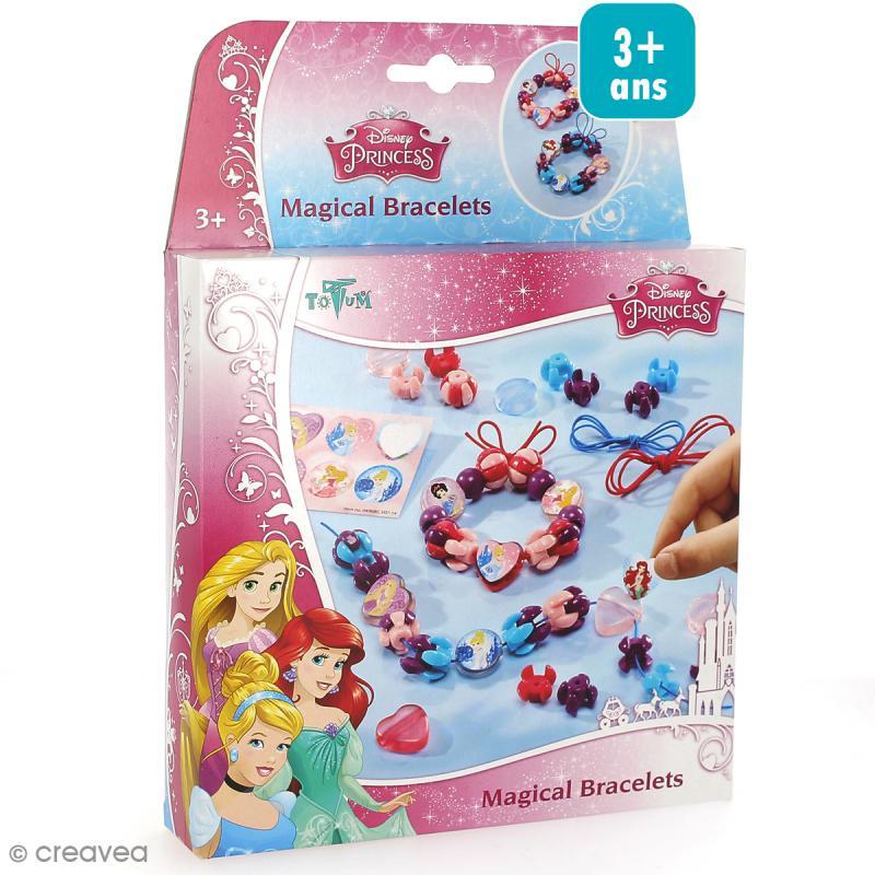 kit cr atif princesses disney bracelets magiques jeux cr atifs de 2 5 ans creavea. Black Bedroom Furniture Sets. Home Design Ideas