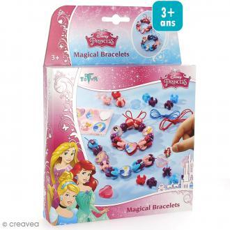 Kit créatif Princesses Disney - Bracelets magiques