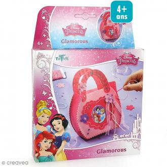 Kit créatif Princesses Disney - Sac en feutrine