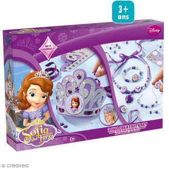 Kit créatif Princesse Sofia 2 en 1 - Couronne + Parure de bijoux