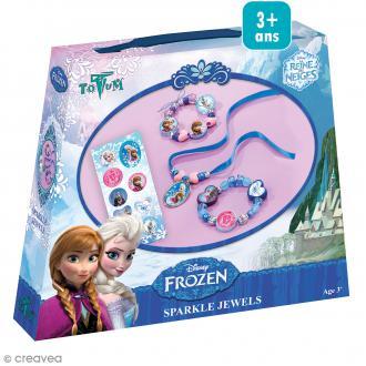 Kit créatif La reine des neiges - Parure de bijoux