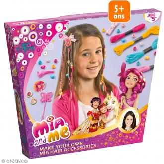 Kit créatif Mia et moi - Tresses en fils pour cheveux
