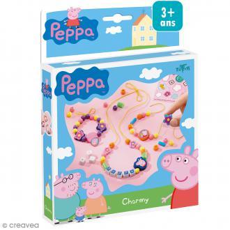 Kit créatif Peppa pig - Bracelets et colliers en perles