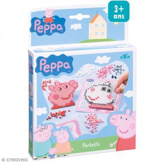 Kit créatif Peppa pig - Portraits en perles à repasser