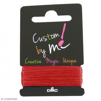 Fil à broder Custom By Me Uni - Rouge écarlate - 10 m