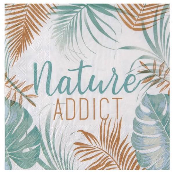 20 Serviettes en papier Nature Addict - Photo n°1