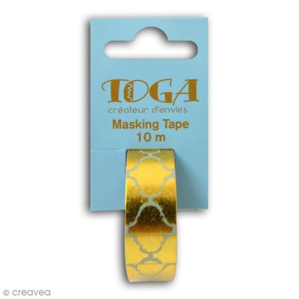 Masking tape Toga - Frise orientale sur fond - 10 mètres - Photo n°2