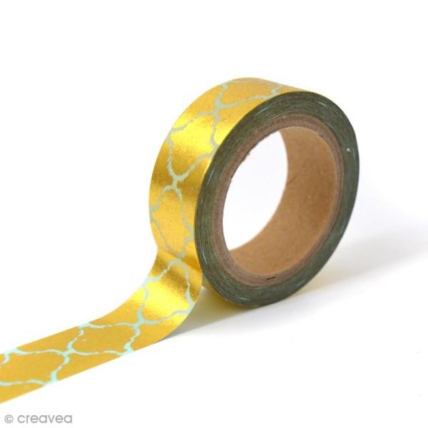Masking tape Toga - Frise orientale sur fond - 10 mètres - Photo n°1
