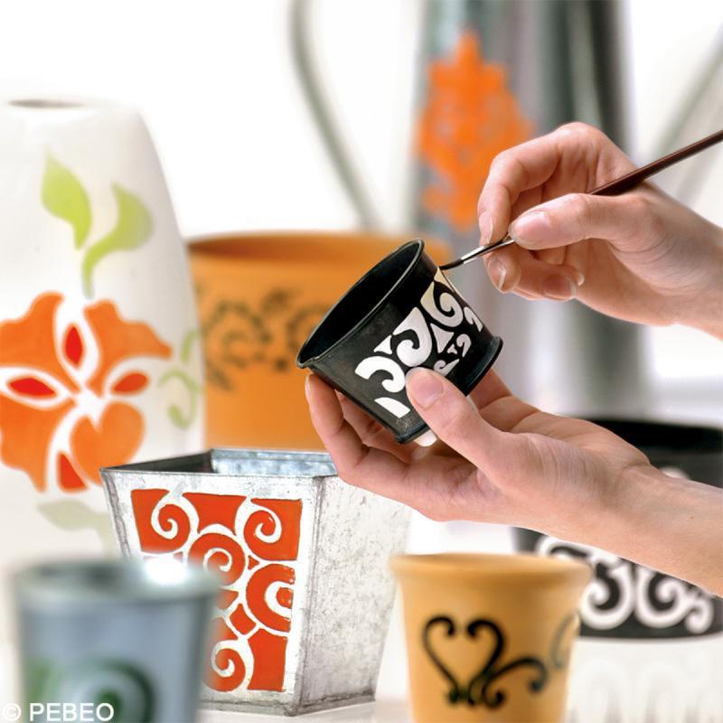 Peinture Céramic Pébéo - Brillante - 45 ml - Photo n°4