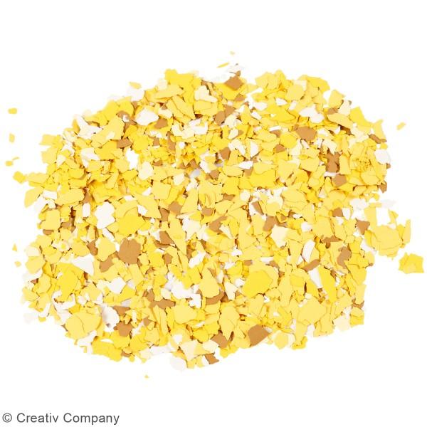 Flocons de Terrazzo jaunes - Photo n°2