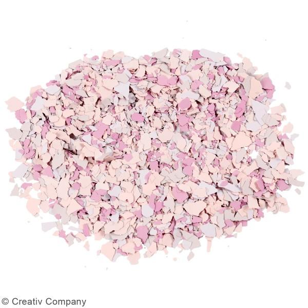 Flocons de Terrazzo violets - Photo n°2