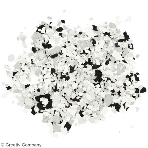 Flocons de Terrazzo noirs - Photo n°3