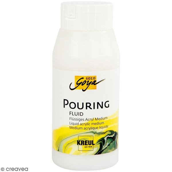 Pouring fluid - Medium acrylique pour technique de coulage - 150 ml - Photo n°2