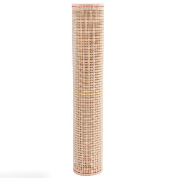 Toile pour tissage - blanc cassé - 50 cm x 1 m - Photo n°2