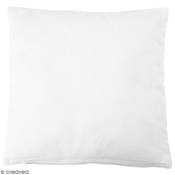 Taie d'oreiller en tissu à décorer - 40 x 40 cm - Photo n°1