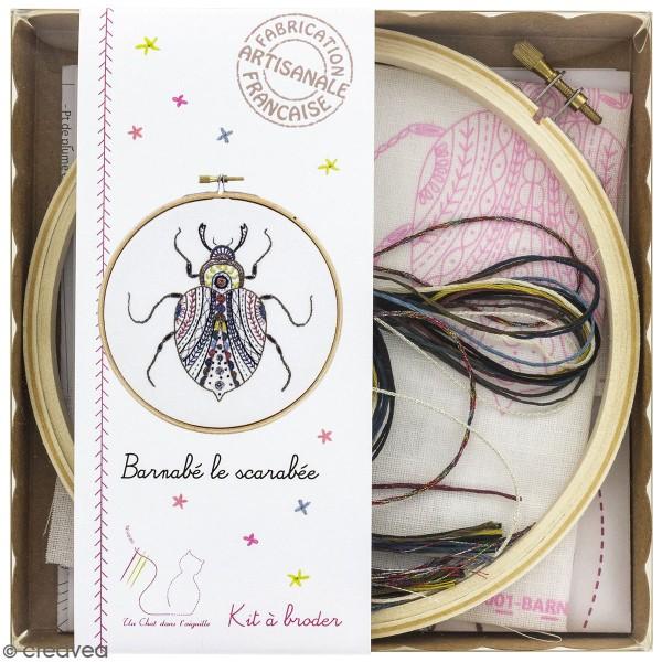 Kit broderie - Barnabé le scarabée - Photo n°1
