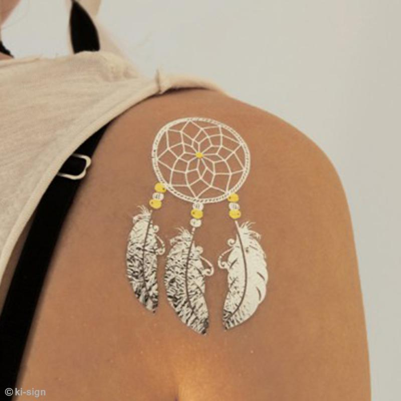 Tatouage temporaire tattoo chic attrape r ves 15 for Acheter des carpes