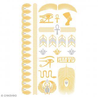 Tatouage temporaire Tattoo Chic - Egypte - 22 tattoos