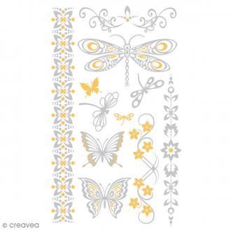 Tatouage temporaire Tattoo Chic - Papillons - 11 tattoos