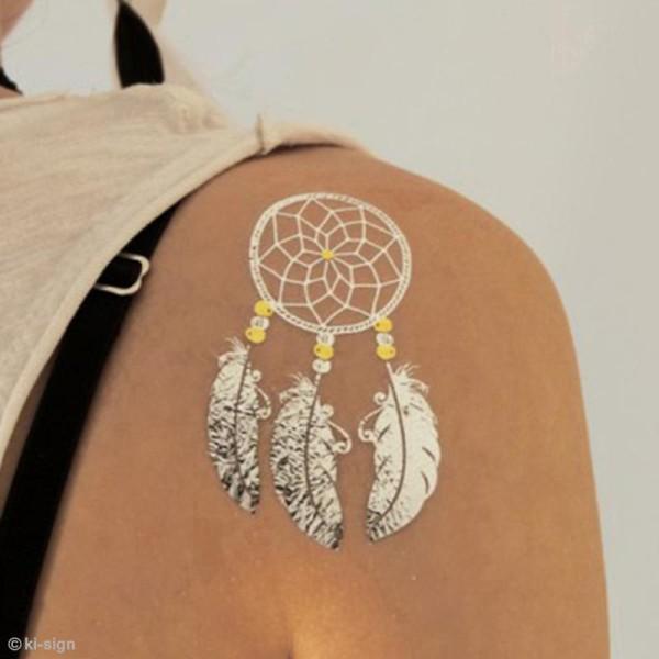 Tatouage temporaire Tattoo Chic - Plumes - 18 tattoos - Photo n°2